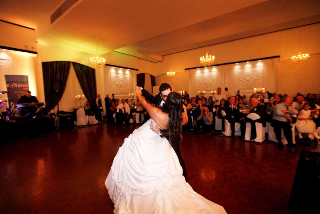 Vogue Ballroom Reception first dance