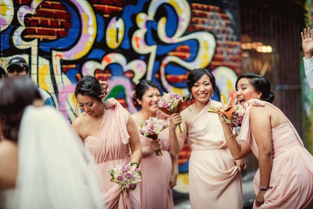 group bridesmaid photo