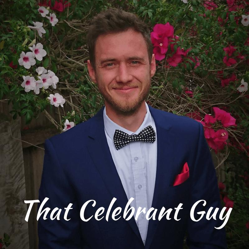 That celebrant guy