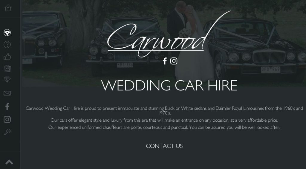 Wedding luxury cars Melbourne