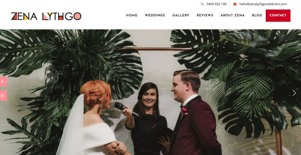 wedding marriage celebrant in Melbourne