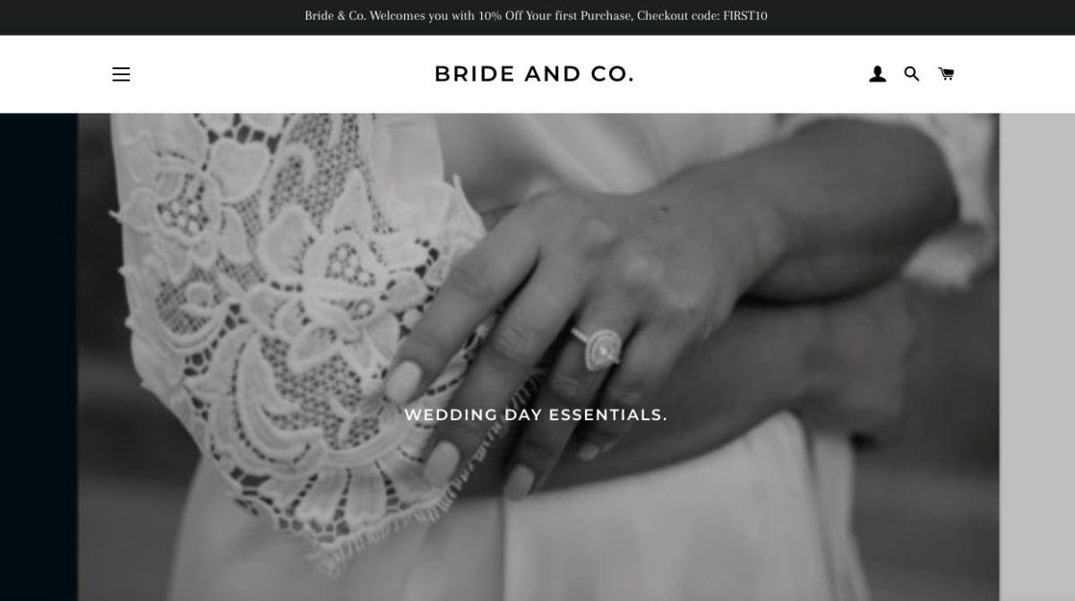 wedding bride essentials