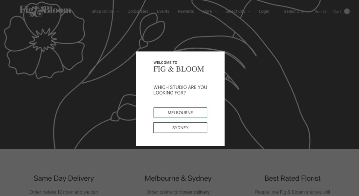Melb flowers & bouquets