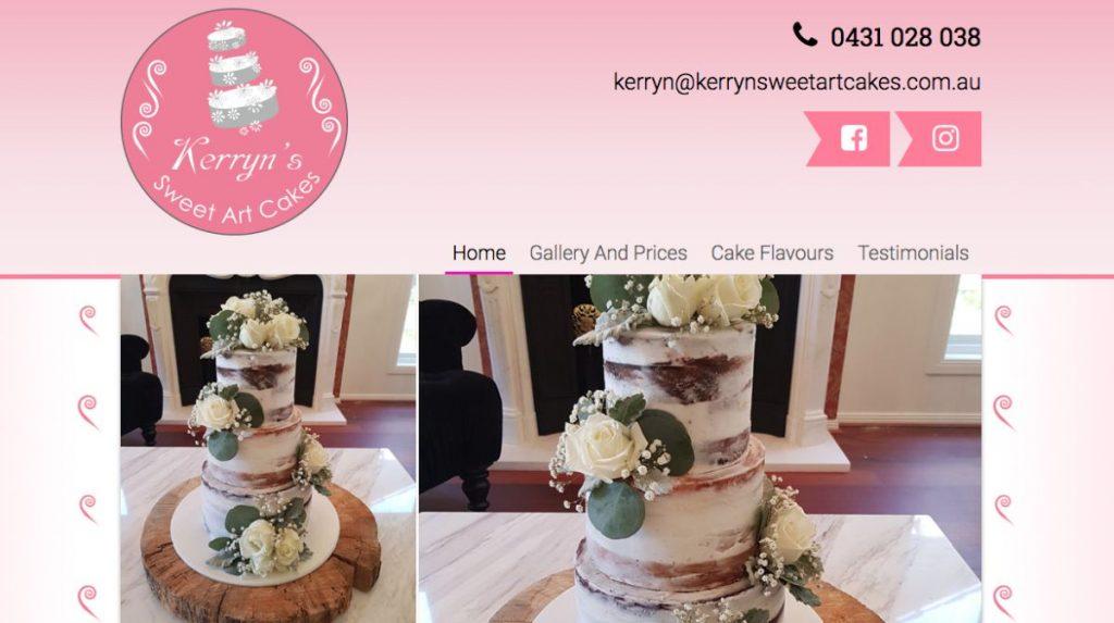 Art Wedding Cakes