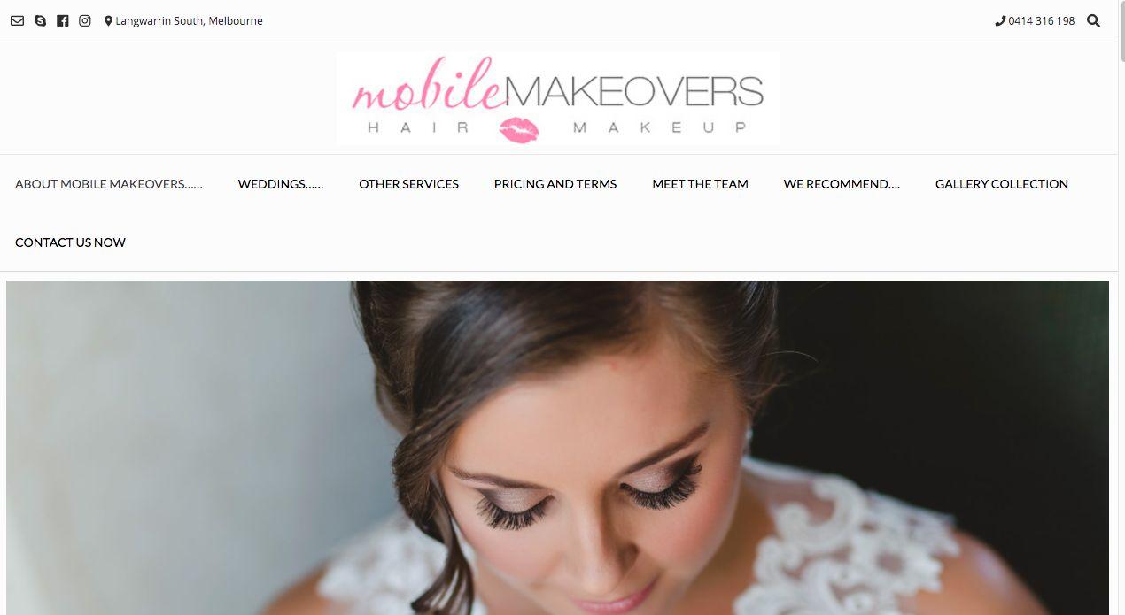 Professional Makeup Makeover Melbourne