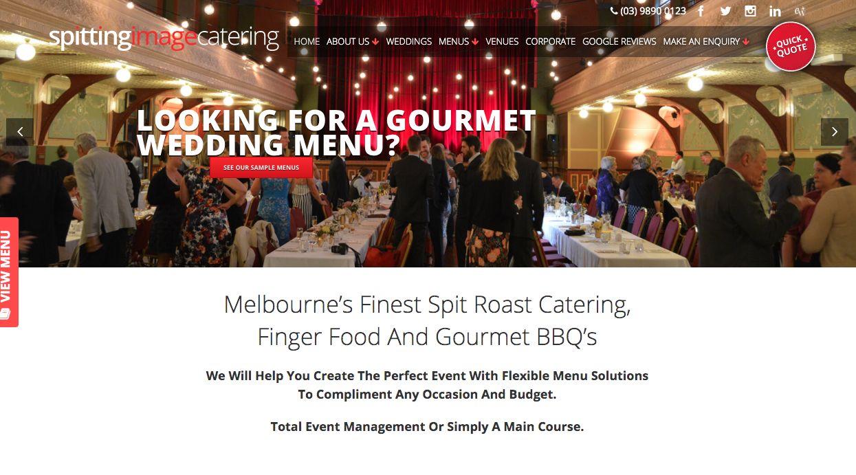 wedding food events Melbourne