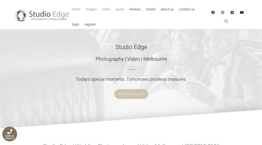 Photo studios for weddings Melbourne