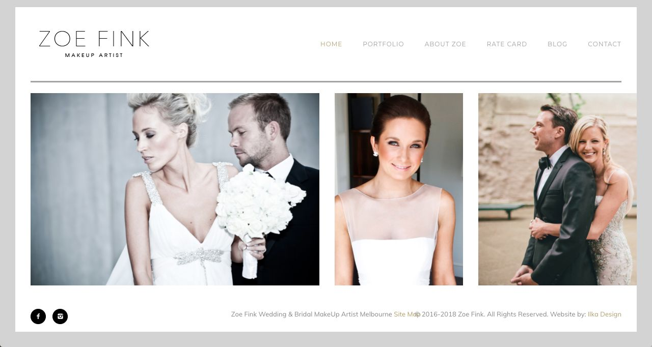 Hair styling and makeup for weddings Melbourne