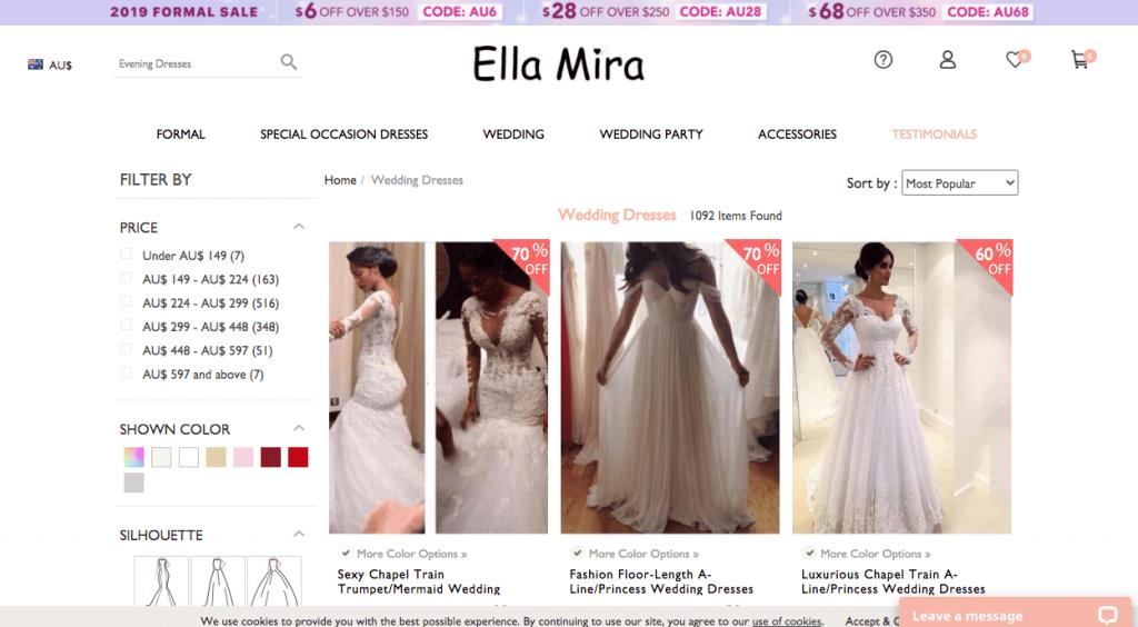 Preloved Wedding Dress Melbourne