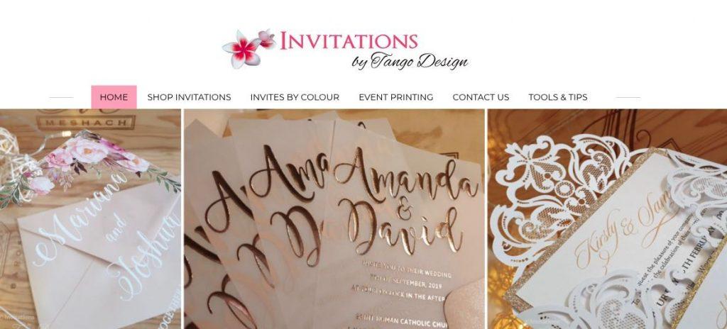 Wedding Invitation Melbourne
