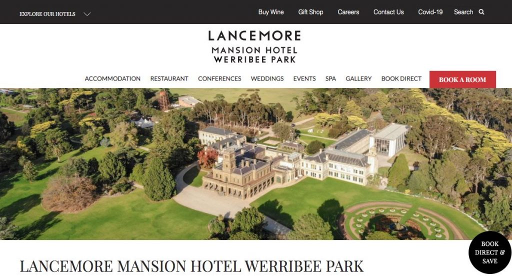 Wedding Accommodation Melbourne
