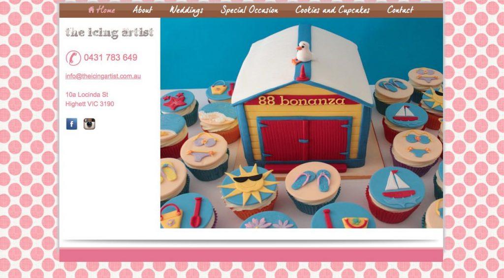 wedding cake melbourne