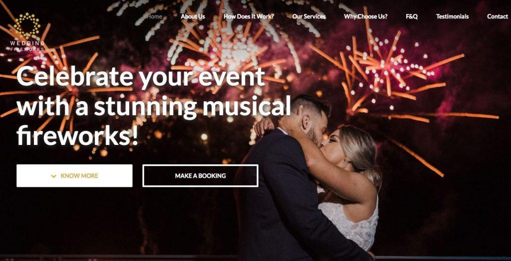 Wedding Fireworks Supplier Melbourne