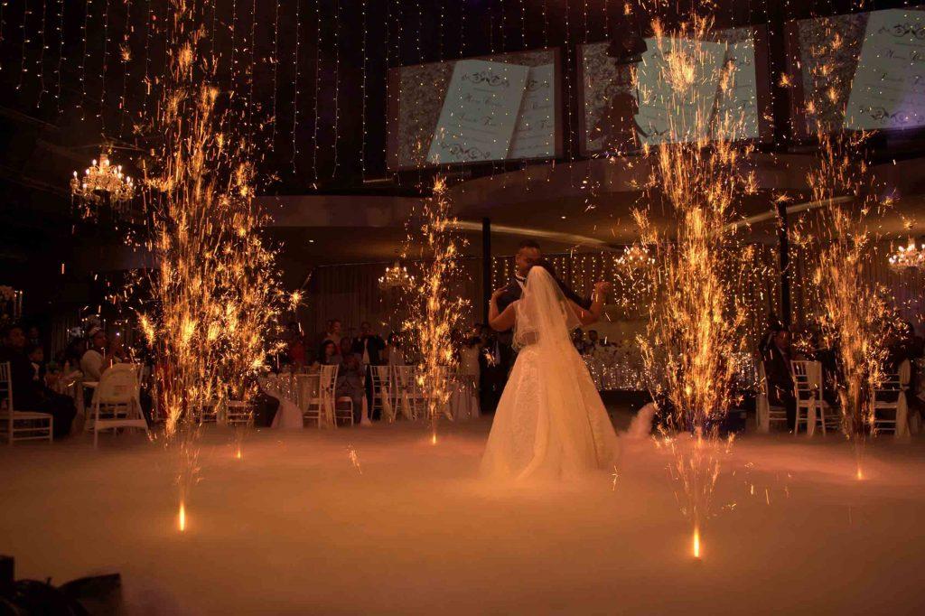 wedding fireworks melbourne