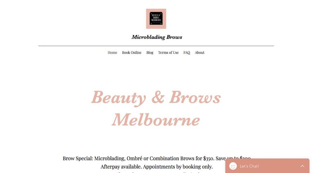 Beauty and Brows Microblading Salon Melbourne