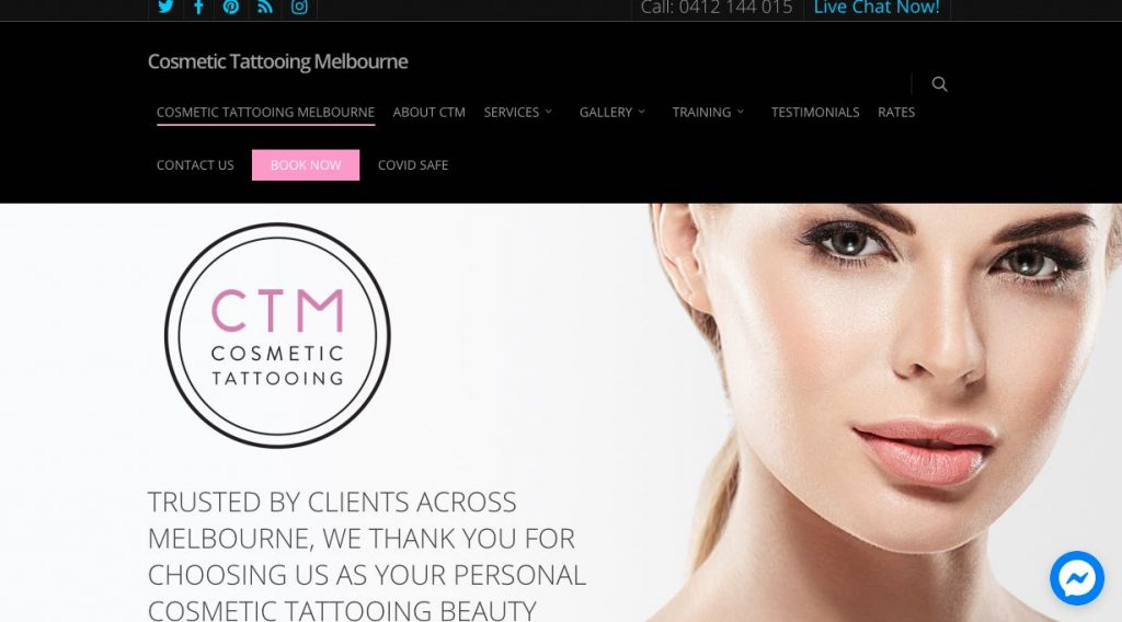 Cosmetic Tattooing - Microblading Melbourne