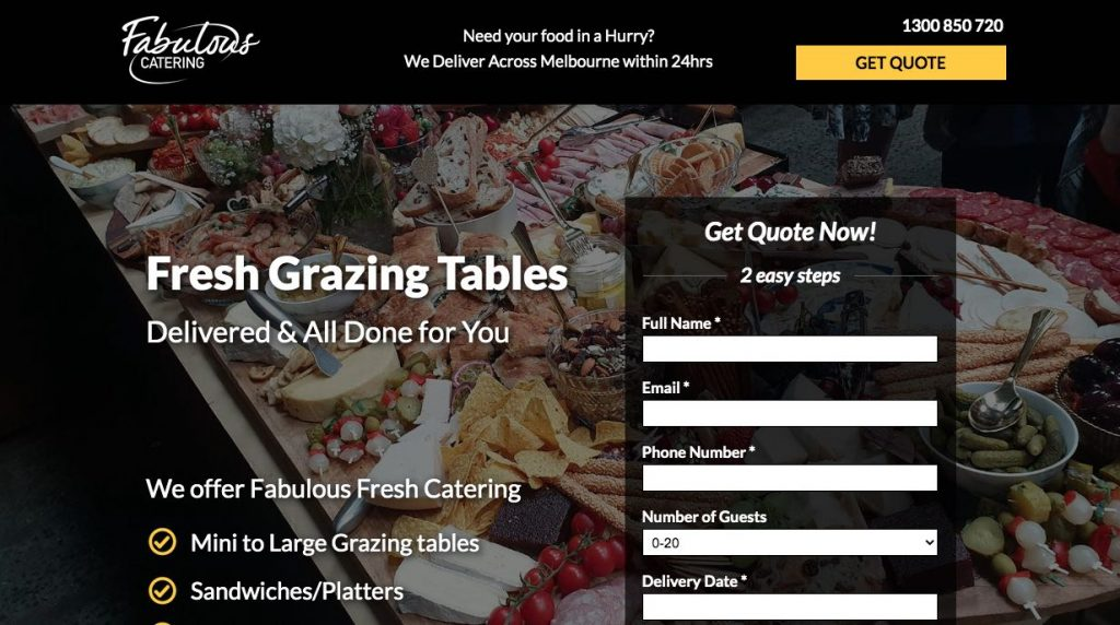 Fabulous Catering - Grazing Table Melbourne