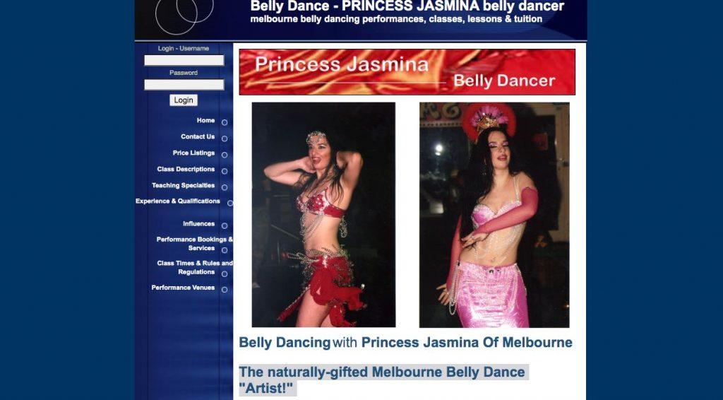 Jasmina Belly Dancer Melbourne