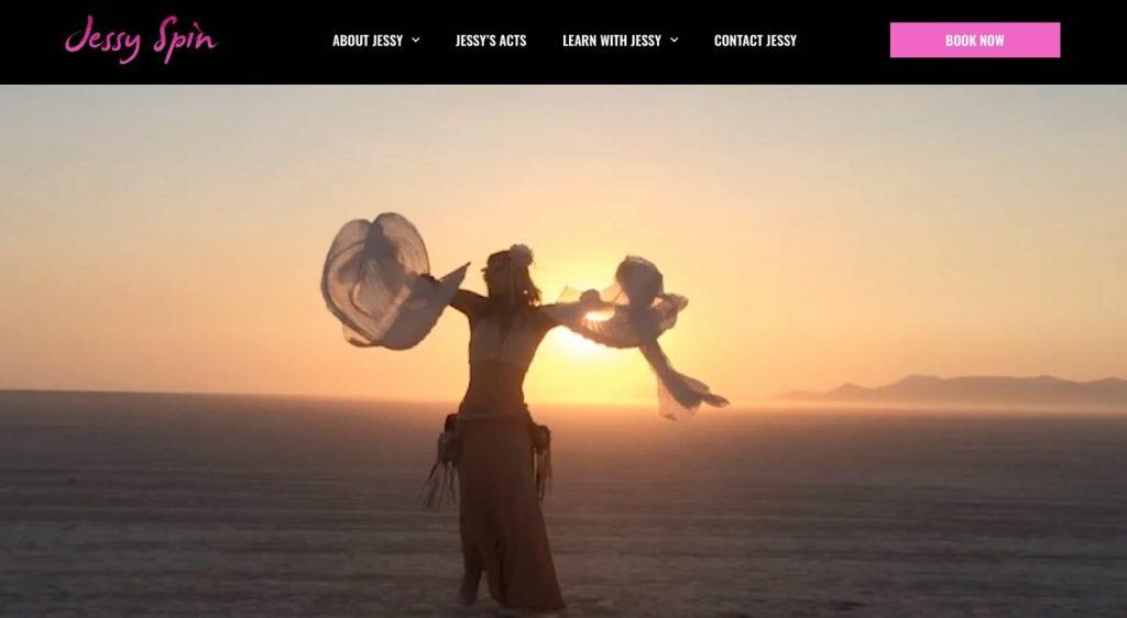 Jessy Spin Belly Dancer Melbourne