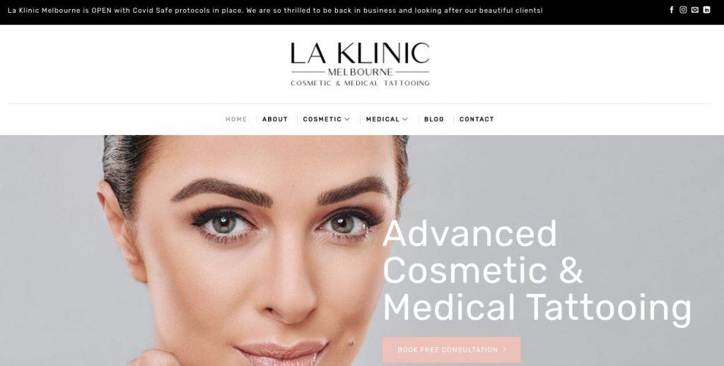 LA Kilinic Cosmetic Lip Tattoo Melbourne
