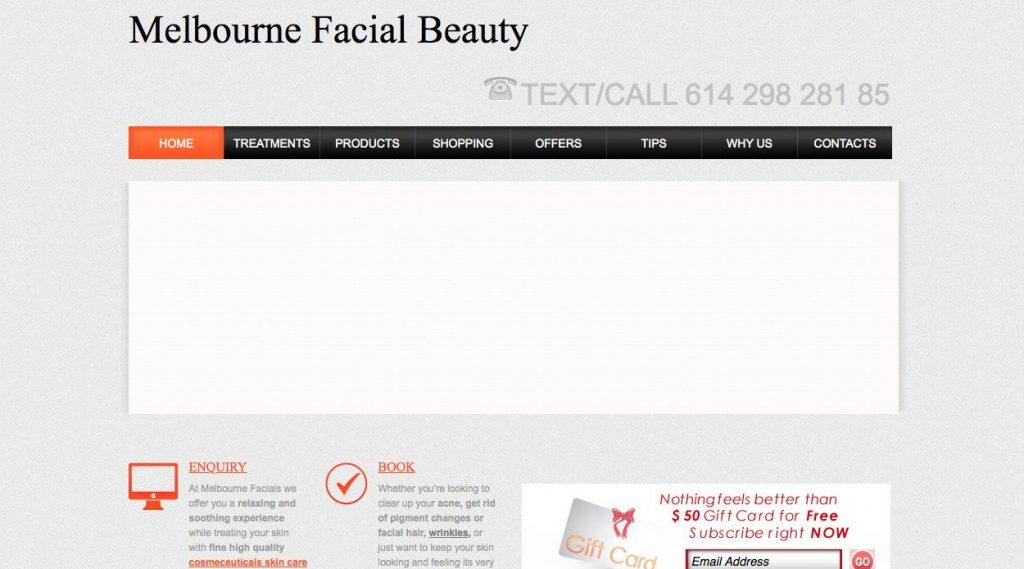 Melbourne Facials -Laser Pigmentation Removal Melbourne