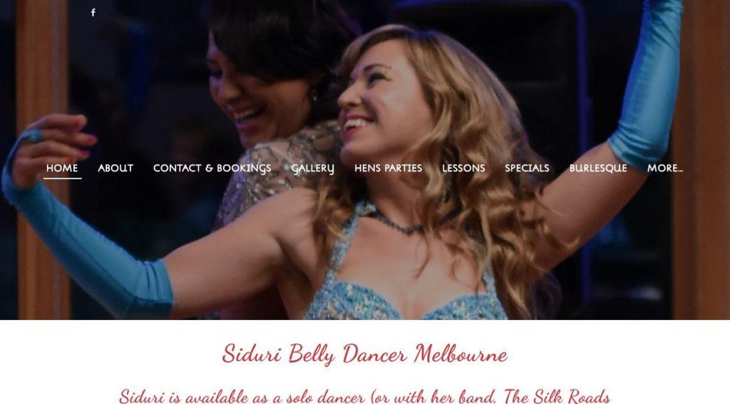 Siduri Belly Dancer Melbourne