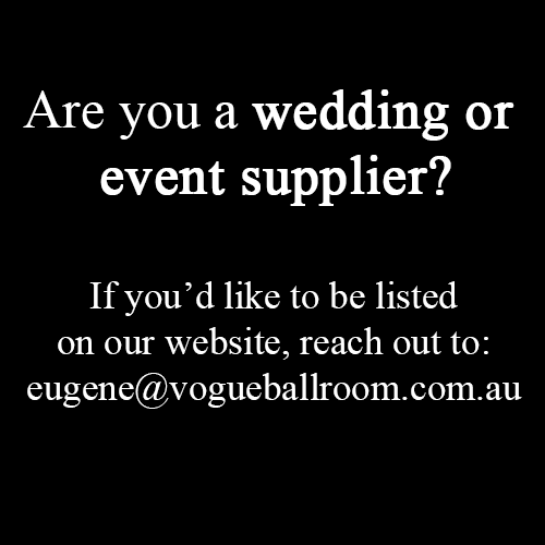 wedding suppliers melbourne