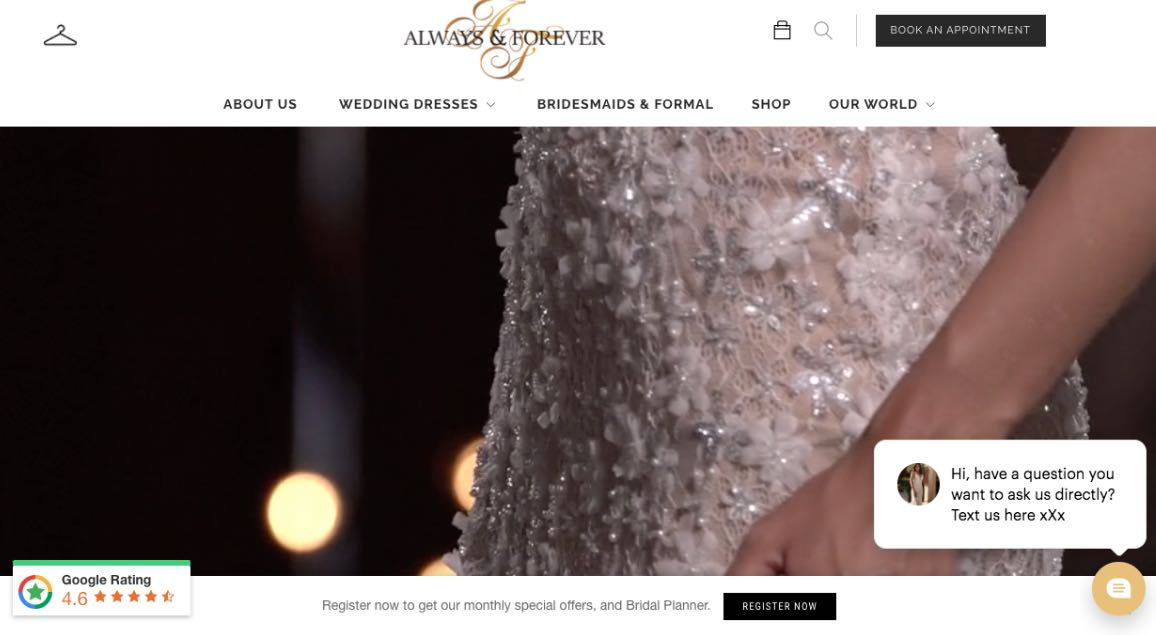 Always and Forever Couture Wedding Dress Melbourne
