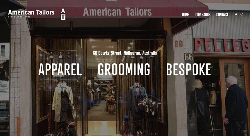 American Tailors - Suit Tailors Melbourne