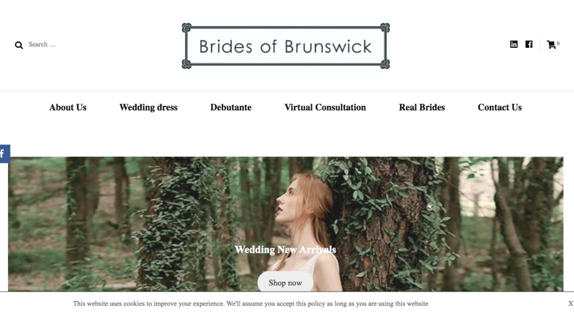 Brides of Brunswick Couture Wedding Dress Melbourne