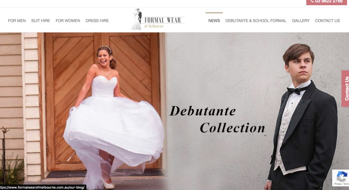 Formal Wear Melbourne Couture Wedding Dress Maker Melbourne