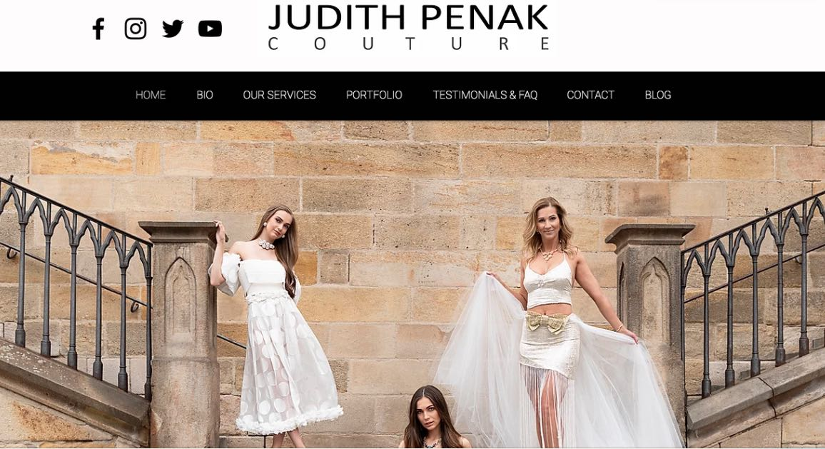 Judith Penak Couture Wedding Dress Maker Melbourne