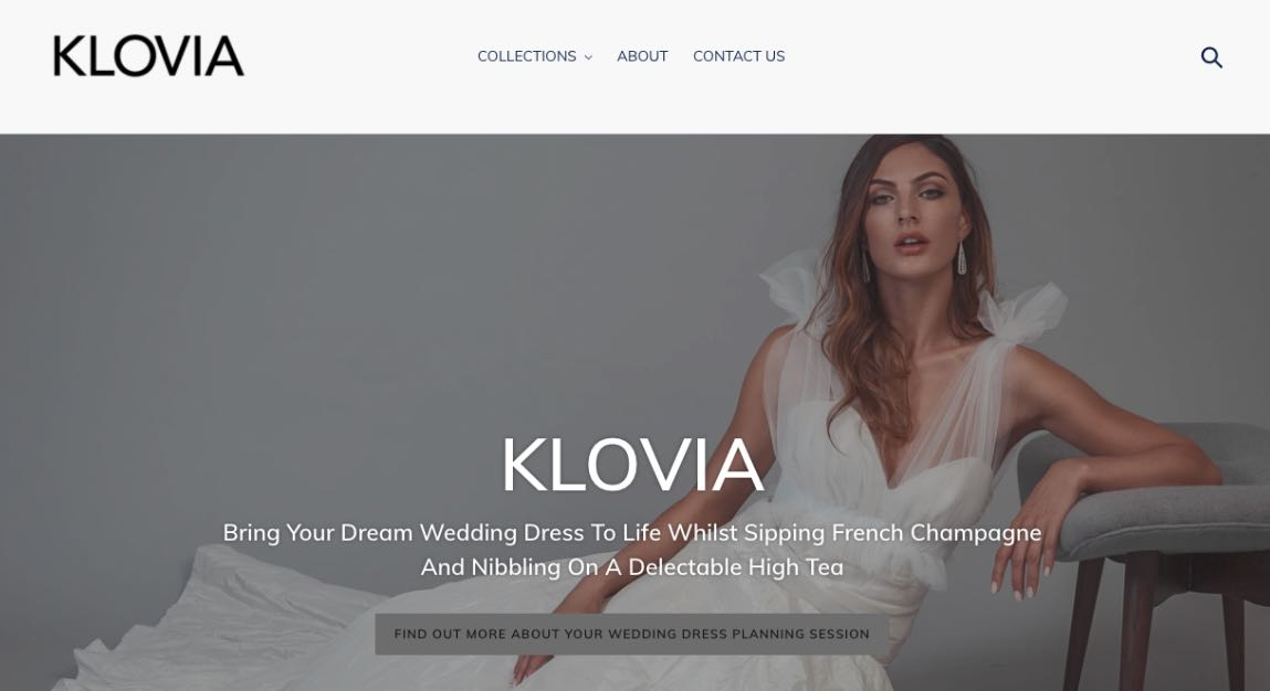 Klovia Couture Wedding Dress Maker Melbourne