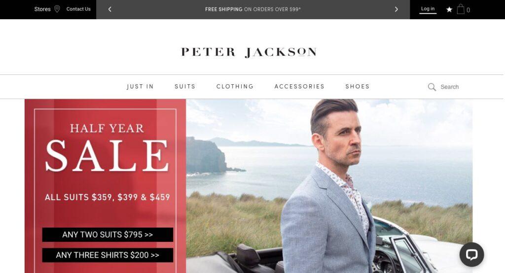 Peter Jackson Suit Tailor Melbourne