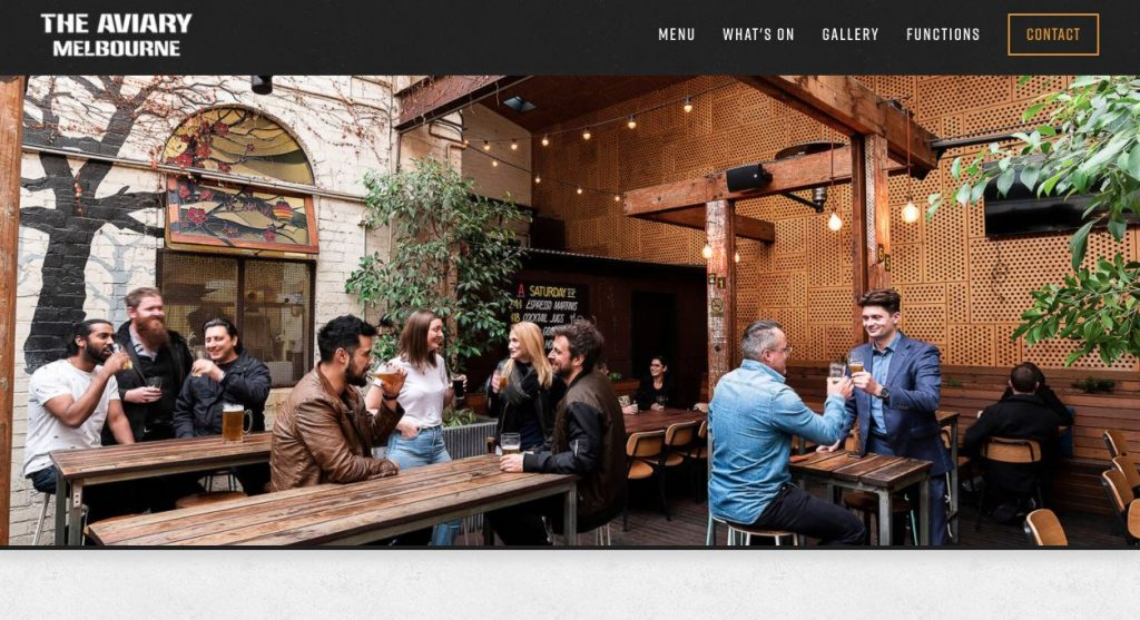 The Aviary Engagement Party Venue Melbourne