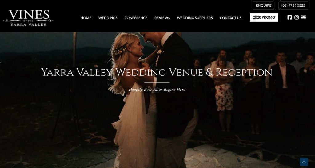 Vines of the Yarra Valley Engagement Party Melbourne