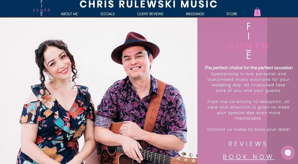Chris Rulewski Music - Wedding Singers & Bands Sydney