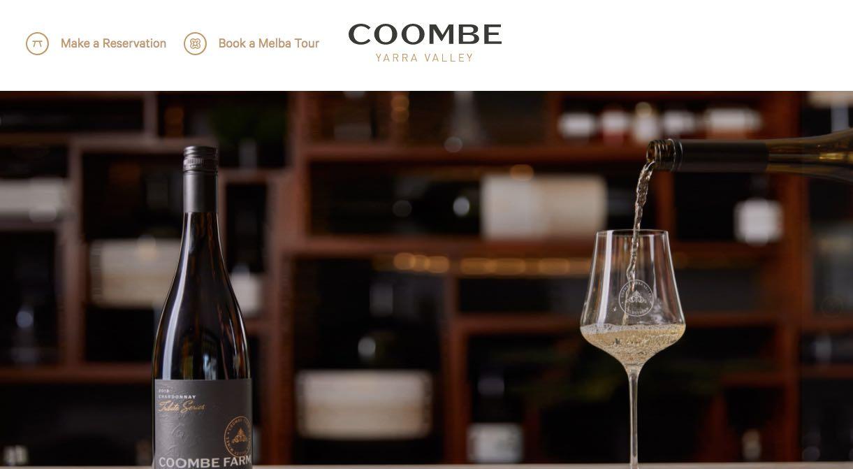 Coombe Wedding Reception Venue Yarra Valley