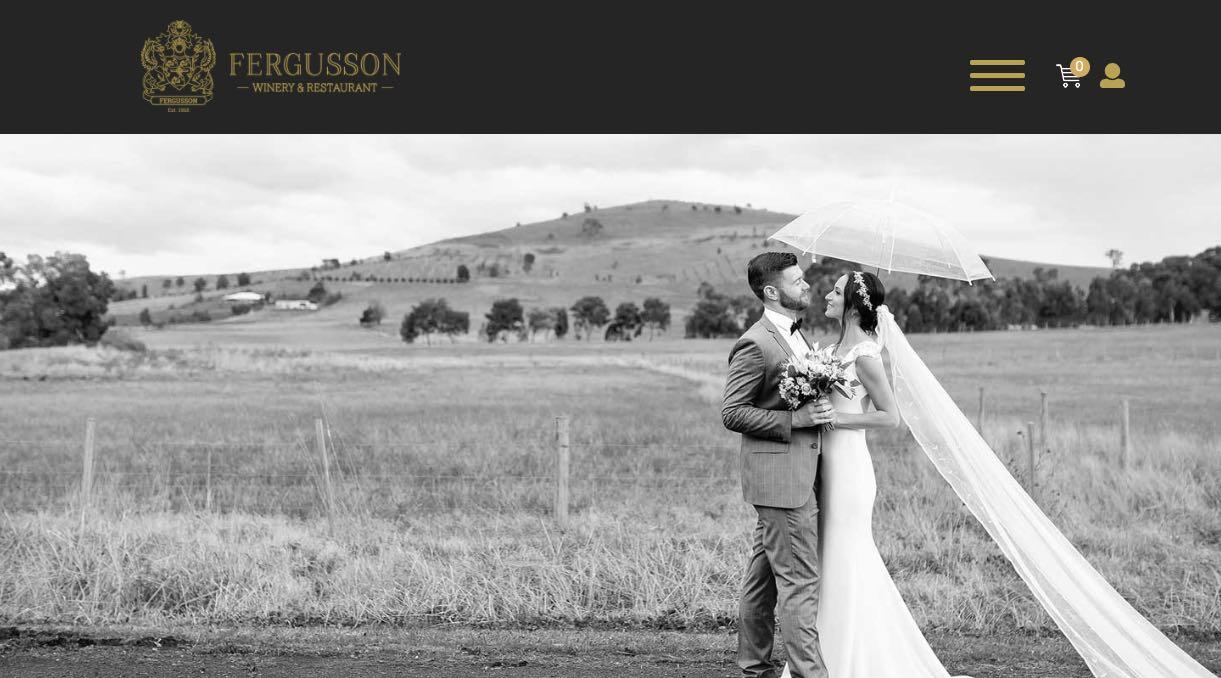 Fergusson Winery - Wedding Reception Venue Yarra Valley