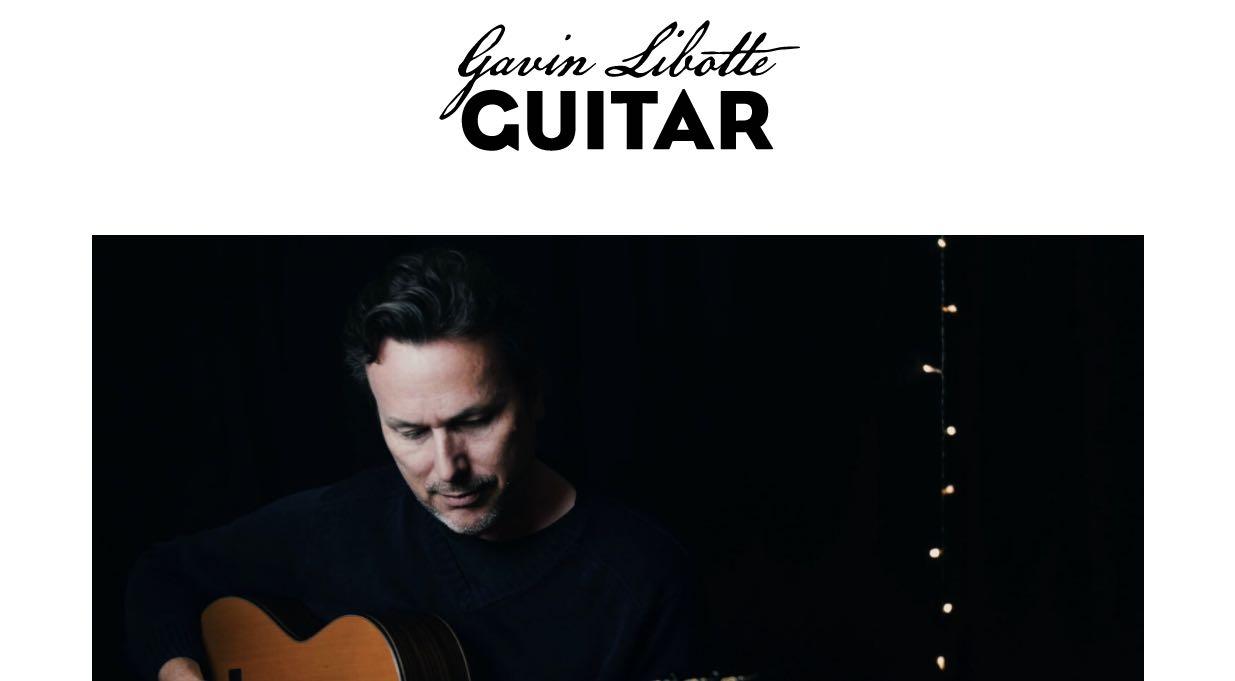 Gavin Botte Guitar - Wedding Singers & Bands Sydney