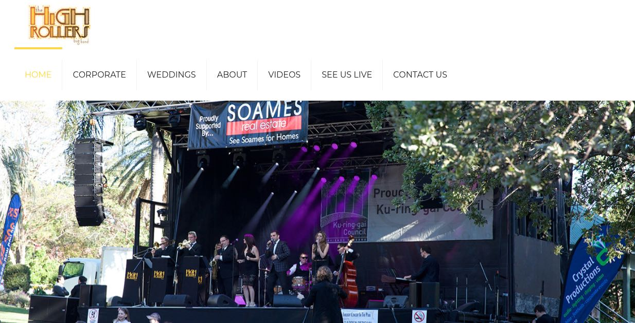 High Rolers Big Band - Wedding Singers & Bands Sydney