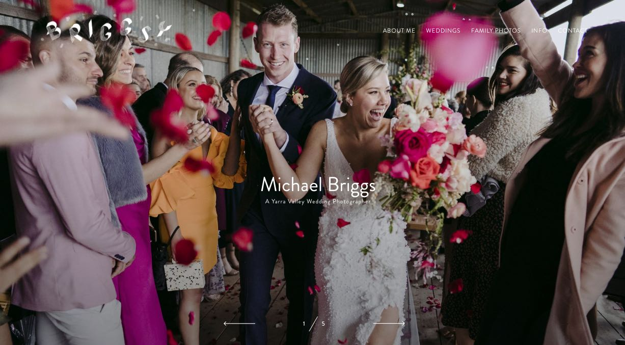 Michael Briggs Wedding Photography Yarra Valley