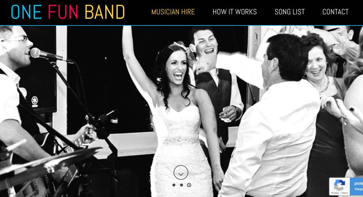 One Fun Band - Wedding Singers & Bands Sydney
