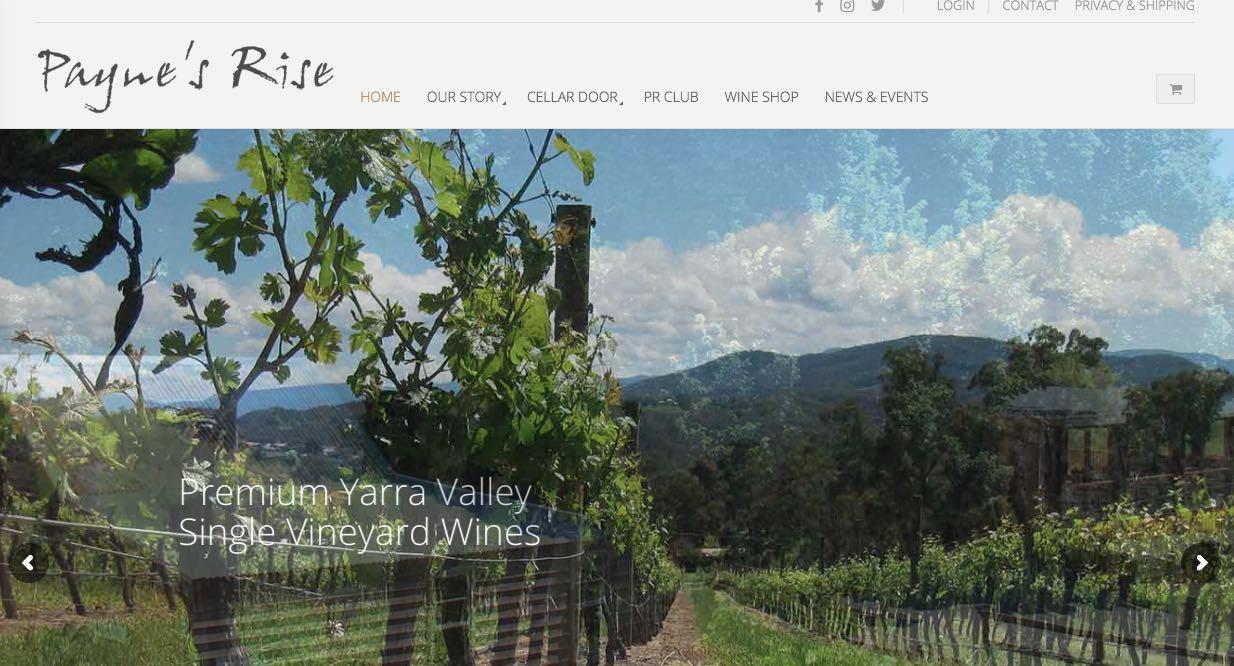 Paynes Rise Wedding Reception Venue Yarra Valley Winery