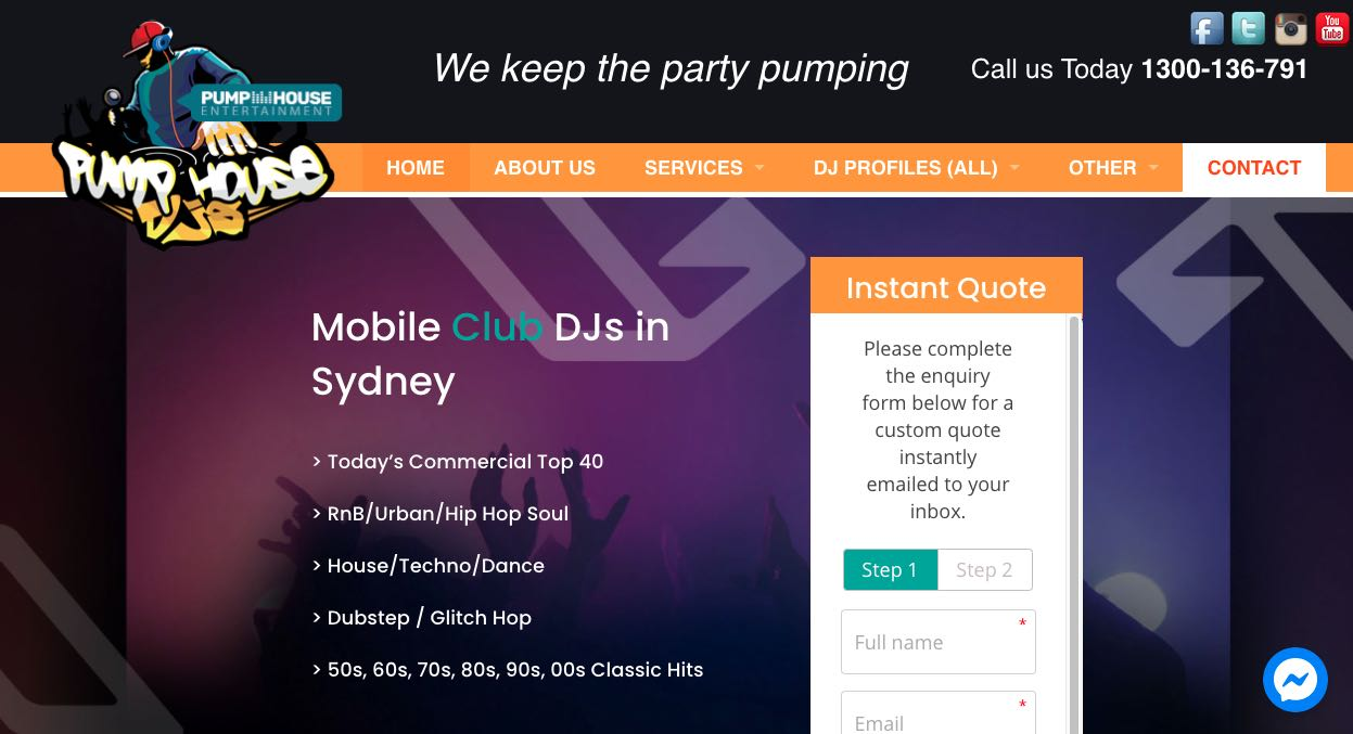 Pump House DJs - Wedding DJ Sydney