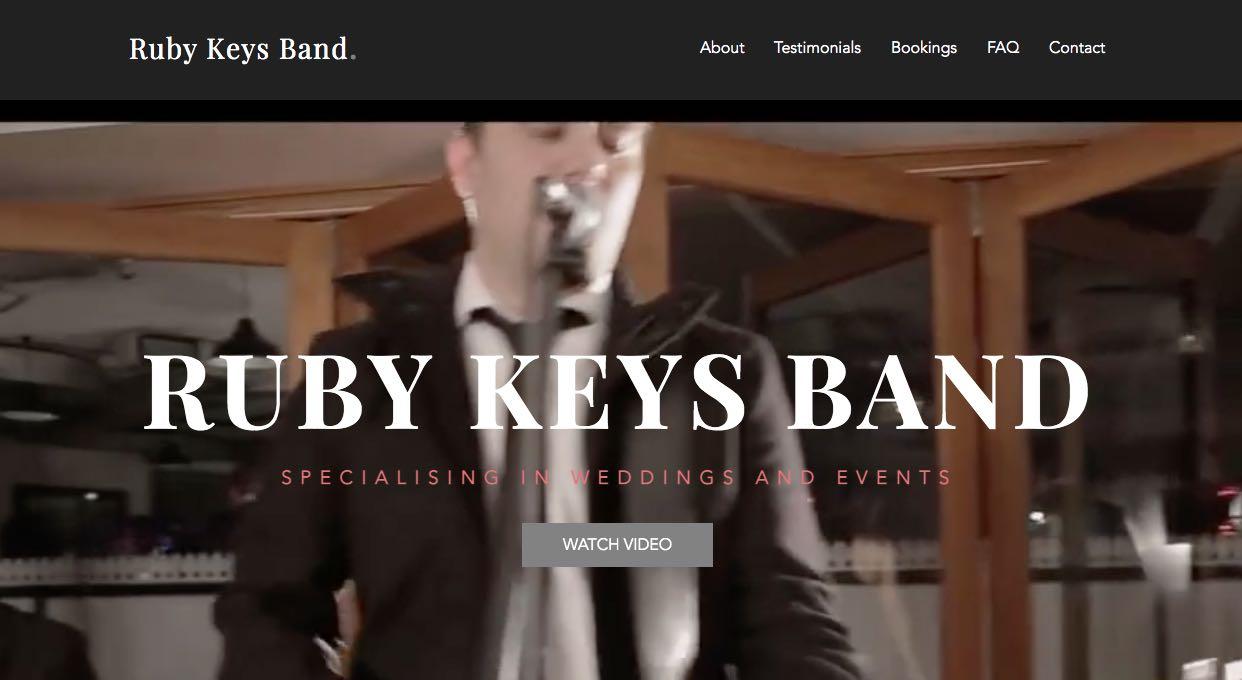 Ruby Keys Band - Wedding Singers & Bands Sydney