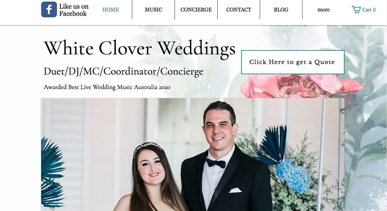 White Clover Music - Wedding DJ Sydney