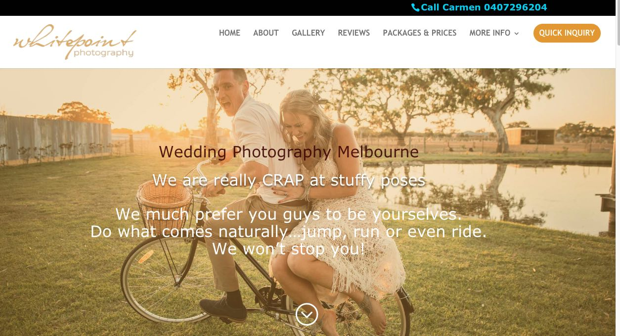 White Point Wedding Photography Yarra Valley