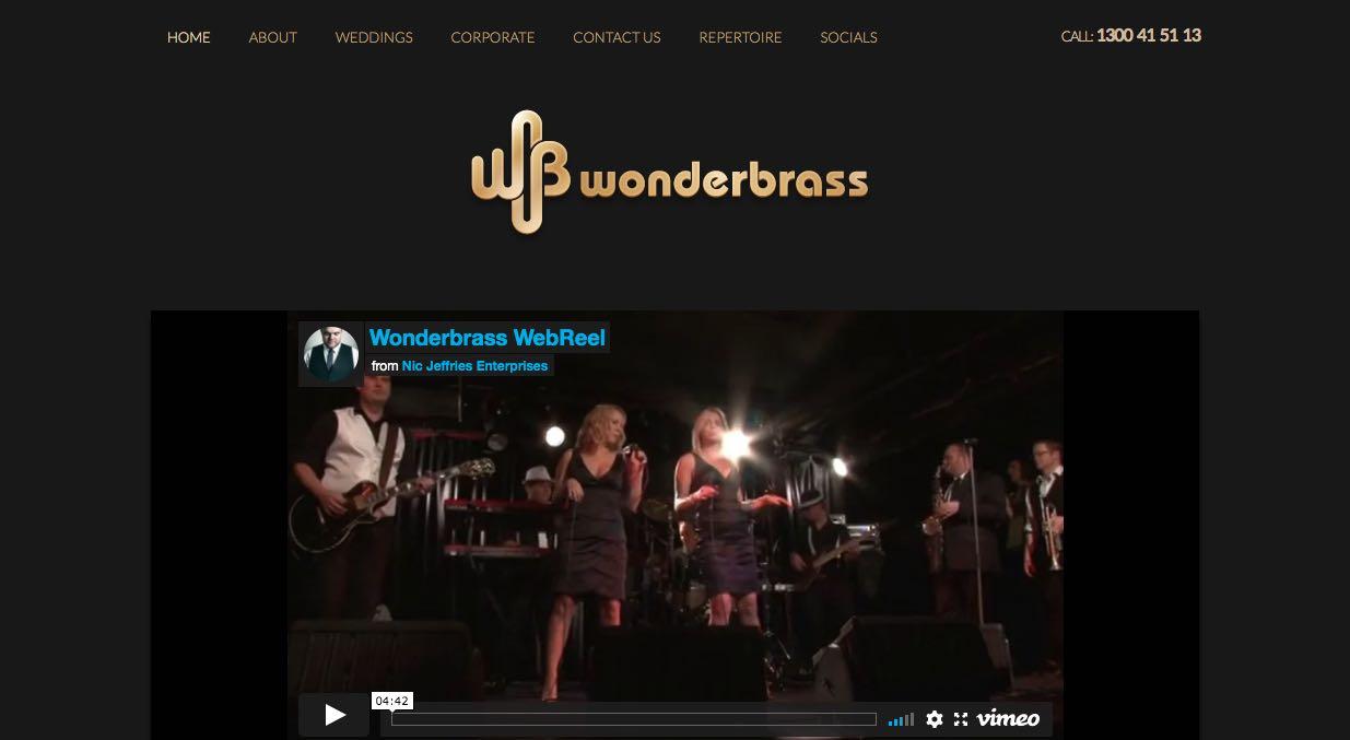 Wonder Brass Wedding Singers & Bands Sydney