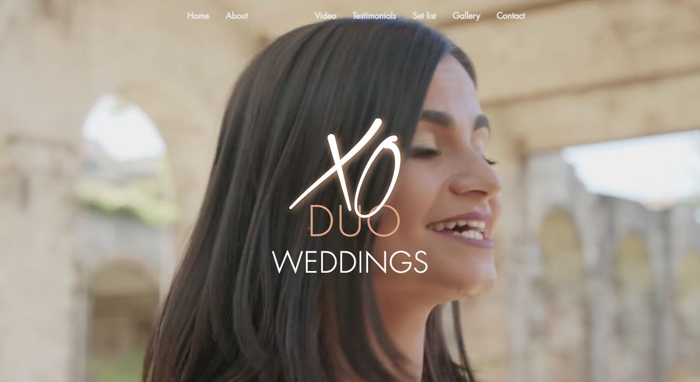 XO Duo Wedding Singers & Bands Sydney